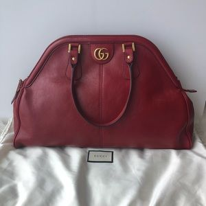 NEW Authentic Gucci ReBelle Large Red